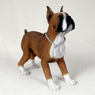 Boxer Statue Figure. Home Yard & Garden Decor Dog Breed Pet Products