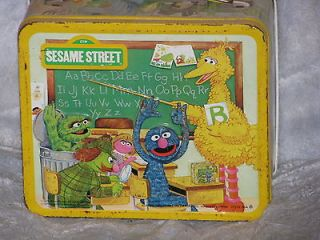 Big Bird, Oscar the grouch, earnie, cookie monster Sesame street