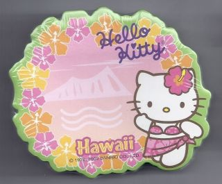 Sanrio Hello Kitty Sticky Notes Hawaii Diamond Hd Lei