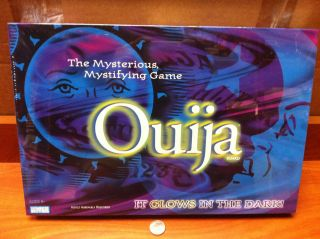 Brothers Ouija Board Glow In The Dark Mysterious Mystifying Game
