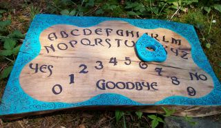 wooden ouija board in Ouija Boards