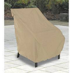 Classic Accessories Outdoor Patio Furniture Large Chair Winter Cover