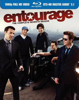 Entourage The Complete Seventh Season Blu ray Disc, 2011, 2 Disc Set