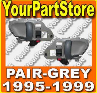 98 CHEVY GMC TRUCK 95 99 Suburban TAHOE INSIDE DOOR HANDLE GREY Pair