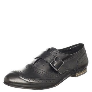 Steve Madden Black Bespoke Oxford Shoes