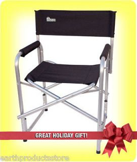 EARTH EXTRA HEAVY DUTY OUTDOOR FOLDING DIRECTORS CHAIR