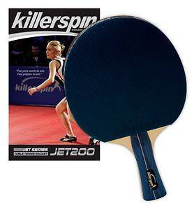 Killerspin Jet 200 Table Tennis Ping Pong Paddle