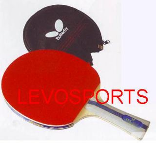 Butterfly Table Tennis Paddle TBC 402, w/Case, New