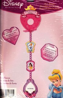 DISNEY PRINCESS DOORKNOB HANGERS ~ Birthday Party Supplies ~ favors