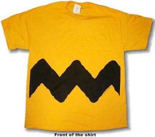 Peanuts Charlie Brown ADULT Tee Shirt PICK SIZE NEW