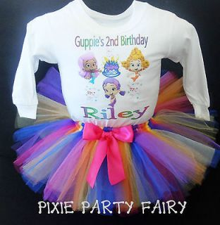 1st 2ND 3RD Birthday TUTU Custom Personalized T shirt Boutique