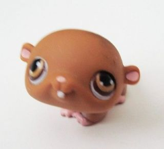 Littlest Pet Shop LPS #35 Hard To Find Brown Baby Hamster