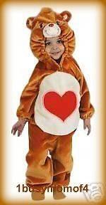 PLUSH TENDERHEART Carebear Care Bear Costume sz 1 2T
