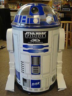 Star Wars Episode I R2D2 42 Brisk Cooler *Excellent Condition*