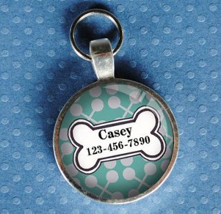 Pet id tags pet tag dog tag light turquoise from California Mutts NEW