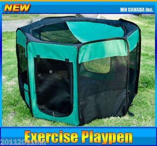 Pet Dog Exercise Playpen 46 Folding Kennel Crate Cage Soft New