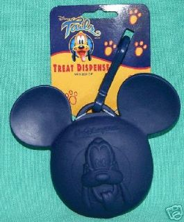 GIFT DISNEY MICKEY MOUSE PLUTO DOG TREAT DISPENSER WITH BELT CLIP NEW