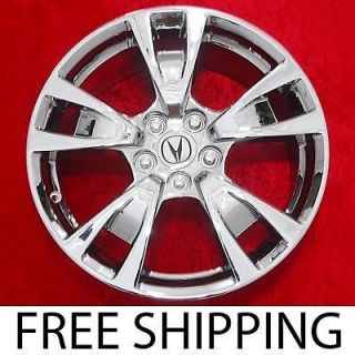 Set of 4 New Chrome 19 Acura TL OEM Factory Wheels Rims 71788