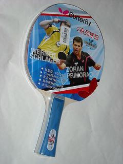 Butterfly(TBC2) ping pong racket, shakehand style. We sell everything