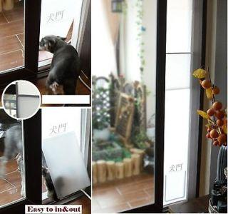 PET DOG CAT DOOR IDEAL FAST FIT PATIO PET FOLDING Medium Replacement