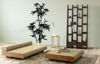 Bamboo Tree Wall Decal Sticker Family Branch Art Word Asian Removable