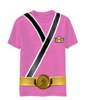 Child Toddler TV Show Power Rangers Samurai Ranger Monster Costume T