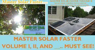 MANUALS MAKE SOLAR PANELS, CELLS 3X6 6X6, BATTERY BANKS, GRID TIE