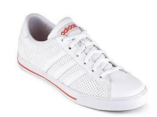 ADIDAS WOMENS NEO SE DAILY QT SHOES/SNEAKERS WHITE/RED US SIZES