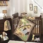 Lambs & Ivy Organic Baby Jungle Land Nursery Baby Crib Bedding Set NIP