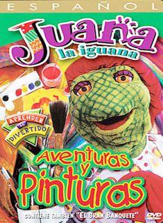 Juana La Iguana   Aventuras y Pinturas (DVD, 2003, Spanish Language