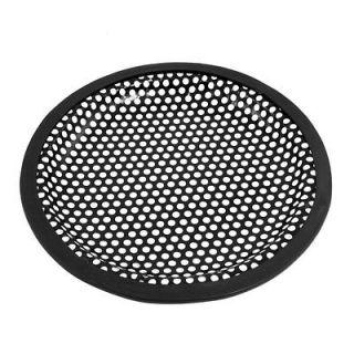 Universal 6 Subwoofer Speaker Black Metal Waffle Cover Guard Grill