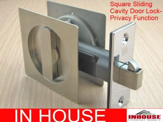 Cavity Sliding door Lock Privacy function