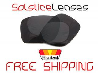 SL BLACK POLARIZED Replacement Lenses for Oakley HOLBROOK Sunglasses