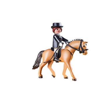 Playmobil German Sport Horse with Dressage Rider