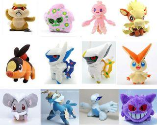 Hot Pokemon Toy Stuffed Soft Plush Figure Toy Doll large collection