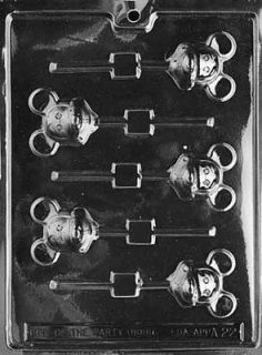 Mouse Sucker (MICKEY) Chocolate Candy Mold * * LP A022 * *