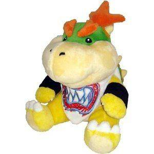 Super Mario Plush 7 Bowser Jr. Soft Stuffed Plush Toy Japanese Import