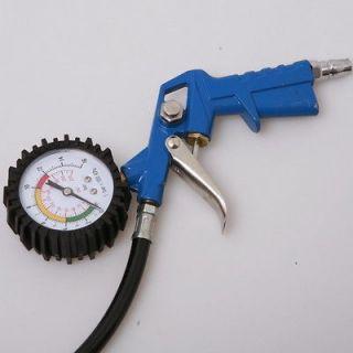 Auto Air Tire Inflator w/Dial Gauge / Bike/motorcycle Compressor 10