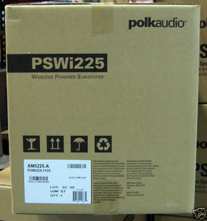Polk Audio PSWi225 Wireless Powered Subwoofer