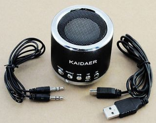 Kaidaer Bluetooth Wireless Portable Stereo Speaker Radio Black