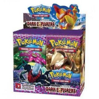 Black & White Dark Explorers Booster Box (Pokemon) New Pokemon
