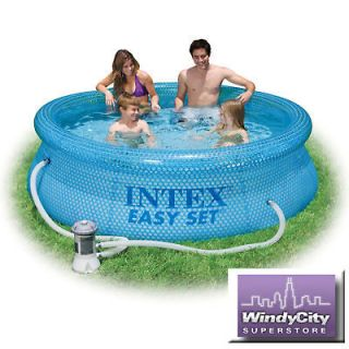 30 Easy Set Above Ground Intex Swimming Pool +Pump