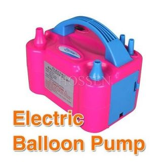 Two Nozzle Balloon Inflator Electric Balloon Pump Portable Blowerr