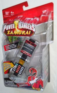 Power Rangers Samurai Red SAMURAIZER MORPHER with stickers