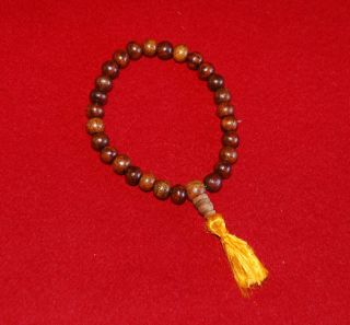 SHEESHAM PRAYER MALA BRACELET 27 BEADS   JAPA YOGA  NEW