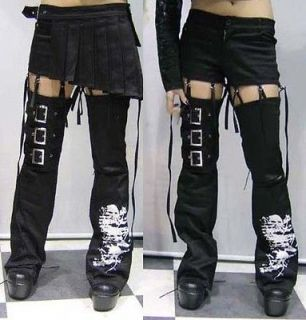 Punk Unisex Visual kei Rock fashion Nana short Pants+skirt+leg warmers