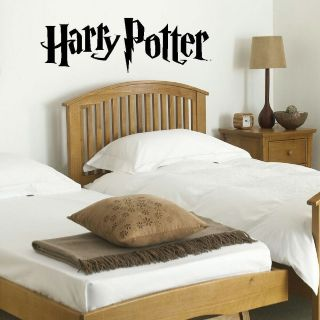 LARGE HARRY POTTER KITCHEN BEDROOM WALL MURAL GIANT ART STICKER MATT