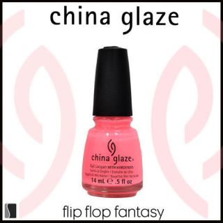 China Glaze Nail Polish Poolside FLIP FLOP FANTASY Lacquer 80946 .5 oz