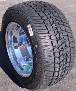 205/50 10 Low Pro Golf Cart Tires Rim Wheel 4ply DOT