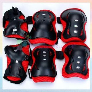 Kid Child Roller Cycling Skateboard Knee Elbow Wrist Protective Pad